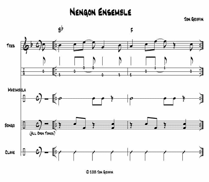 Cuban nengon  example
